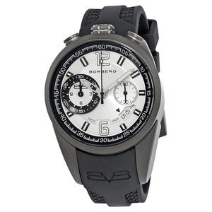 bomberg  Chronograph Silver Dial Mens Watch NSCHPG